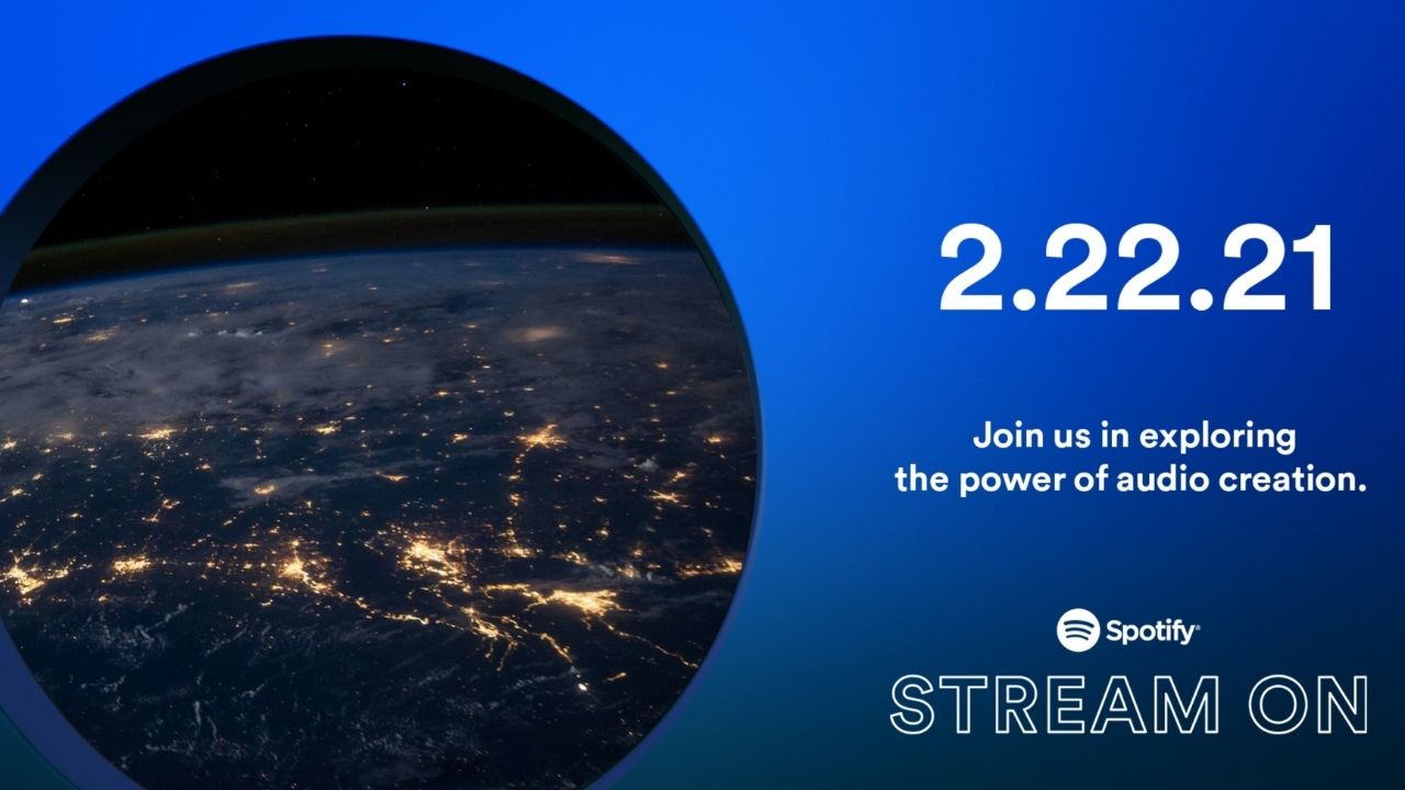 Spotify Stream On event will kick off at 9.30 pm IST.