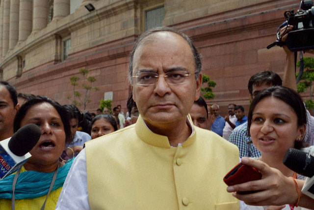 Jaitley makes first m