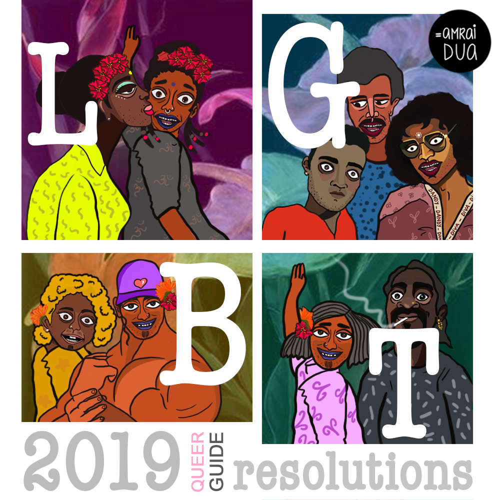 The Queer Guy's Guide To New Year Resolutions For 2019