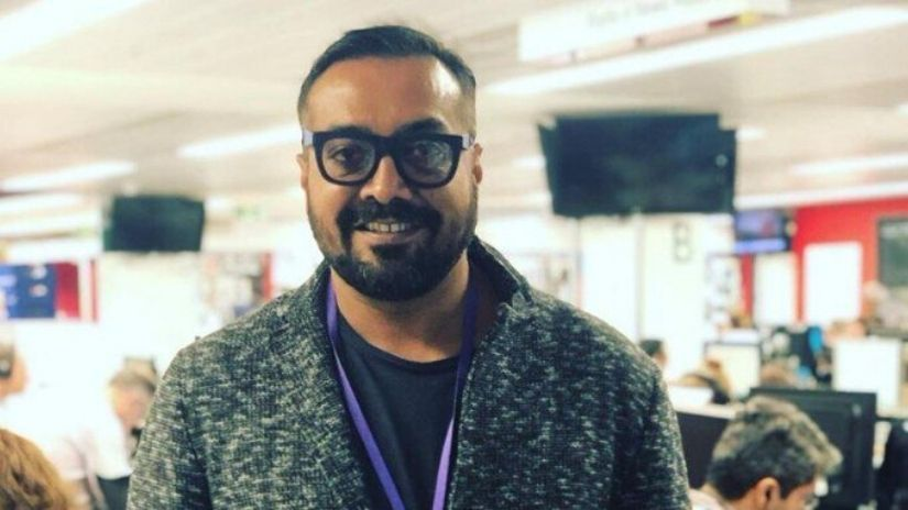 Anurag Kashyap. Image from Twitter